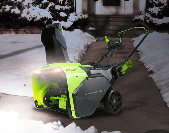 Greenworks Snowblowers
